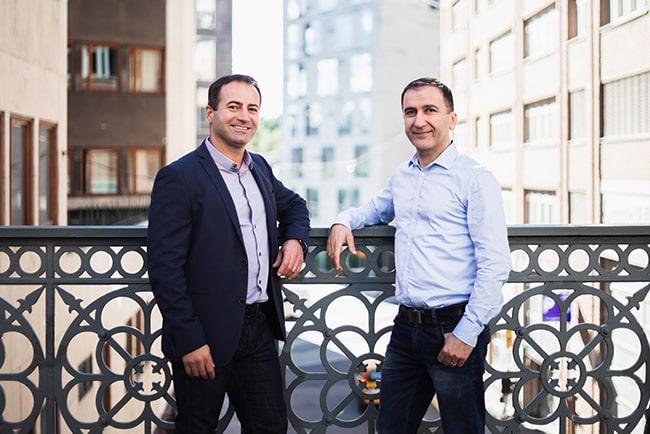 Nextorys grundare Shadi Bitar och Ninos Malki.